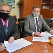 Ministerstvo zdravotnictví aměstská část Praha 10 dnes podepsaly nájemní smlouvu naPacientský hub