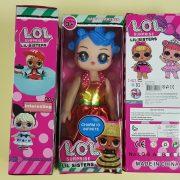 Stanovení nebezpečného výrobku: Panenka L. OL. SURPRISE, LIL SISTERS, HAPPY PARTNER, No.LQ-6