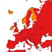 Ze seznamu zemí snízkým rizikem nákazy vypadne Lotyšsko aEstonsko, dooranžové kategorie sepřesunou Kypr aBaleáry