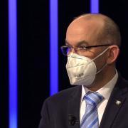 Ministr Jan Blatný byl hostem pořadu Máte slovo sMichaelou Jílkovou