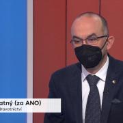 Ministr Jan Blatný: Hromadné postižení budou muset vyhlásit idalší nemocnice