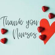 Poděkování sestrám, nelékařským zdravotnickým pracovníkům avšem ostatním dobrovolníkům zajejich nasazení při boji proti koronaviru