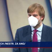 Ministr Adam Vojtěch byl hostem pořadu 360° Pavlíny Wolfové naCNN Prima News
