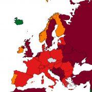 Slovensko, Andorra aFrancie budou nově včervené kategorii zemí podle míry rizika nákazy. Dooranžové kategorie sepřesune San Marino, zelený bude Island