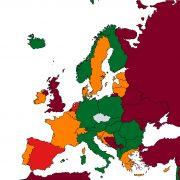 Ministerstvo zdravotnictví aktualizovalo cestovatelský semafor, většina evropských zemí jenově zařazena vzelené kategorii