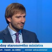 Ministr zdravotnictví Adam Vojtěch byl hostem Interview ČT24