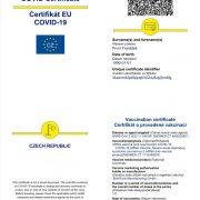 Češi očkovaní vetřetích zemích semohou prokazovat českými EUCOVID certifikáty