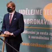 Záznam brífinku ministra zdravotnictví Adama Vojtěcha kaktuální koronavirové situaci