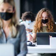 Používání ochranného prostředku dýchacích cest napracovišti
